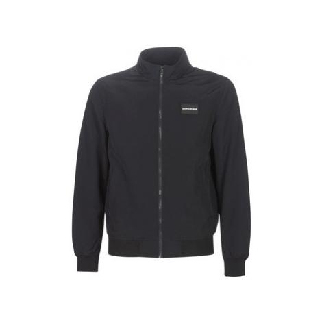 Calvin Klein Jeans ZIP-UP HARRINGTON men's Jacket in Black