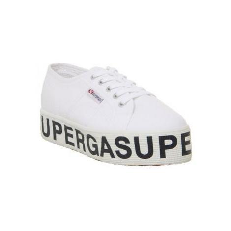 Superga 2790 (l) WHITE SUPERGA LOGO