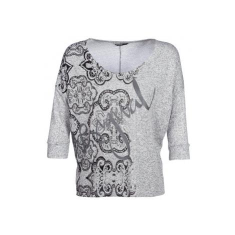 Desigual NISSA women's Sweater in Grey