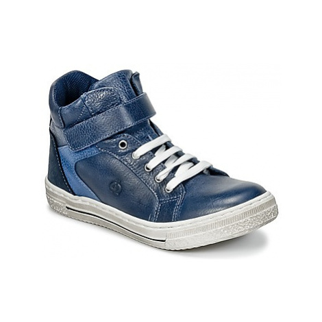 Citrouille et Compagnie HOCHOU boys's Children's Shoes (High-top Trainers) in Blue