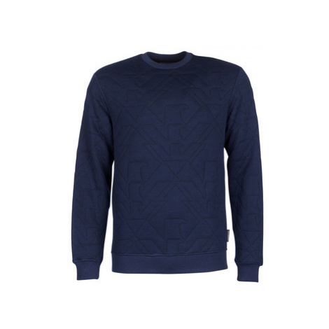 Emporio Armani GUWU men's Sweatshirt in Blue