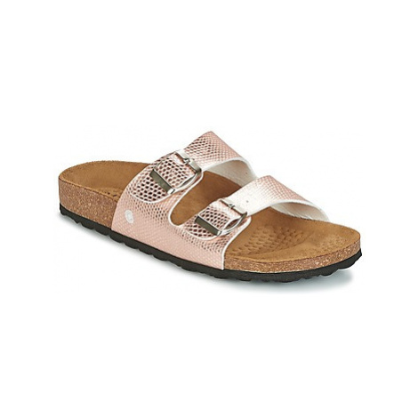 Casual Attitude GIPPER women's Mules / Casual Shoes in Gold