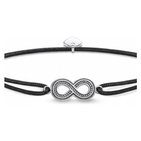 Ladies Thomas Sabo Sterling Silver Glam & Soul Little Secret Infinity Bracelet LS058-907-11-L22V