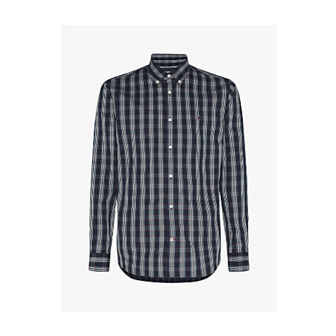 Tommy Hilfiger Check Regular Fit Shirt, Desert Sky/Primary Red/Multi