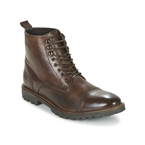Base London SIEGE men's Mid Boots in Brown