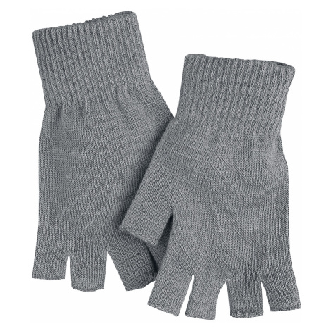 Black Premium by EMP - Hands Up - Fingerless gloves - grey