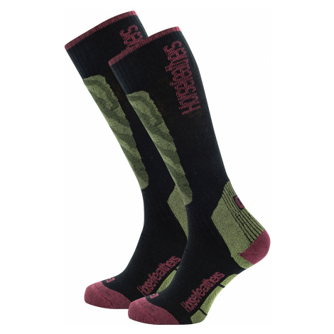 socks Horsefeathers Piper Thermolite - Olive - women´s