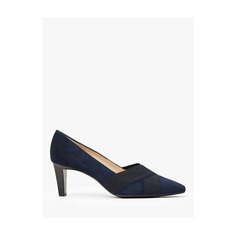 Peter Kaiser Malana Suede Cross Strap Court Shoes