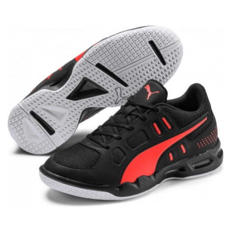 Puma AURIZ JR black - Kids' volleyball shoes