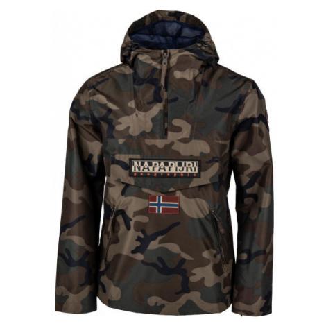Napapijri RAINFOREST PRINT 1 FANTASY brown - Men's jacket