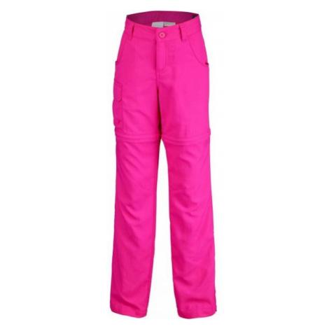 Columbia SILVER RIDGE III CONVT G pink - Girls' outdoor pants
