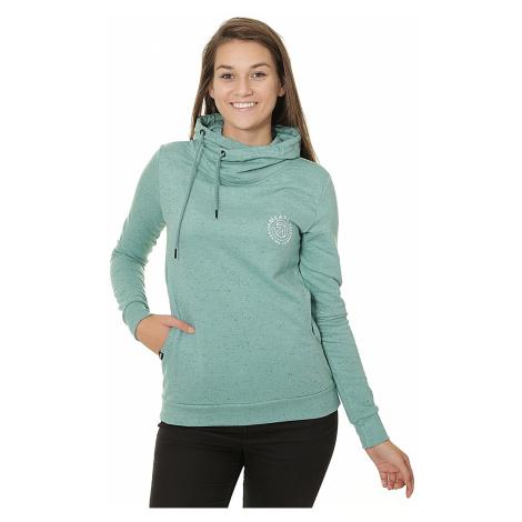 sweatshirt Meatfly Mei - E/Heather Green - women´s