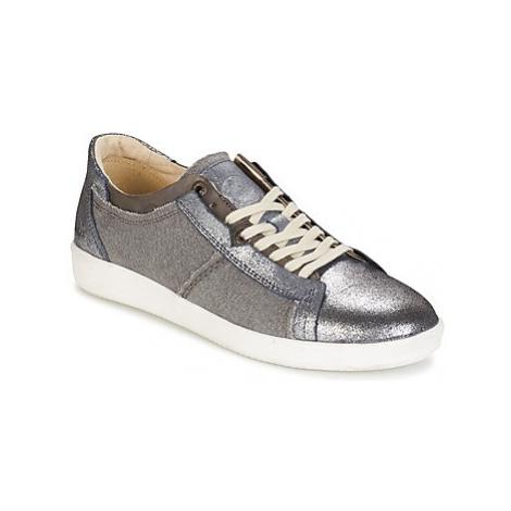 Kickers HAPPYSTAR women's Shoes (Trainers) in Grey
