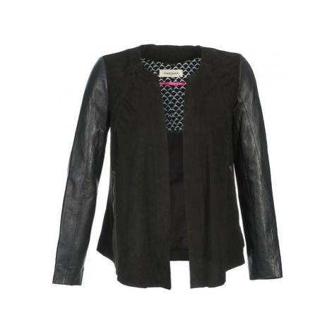 Naf Naf COCOTTE women's Leather jacket in Black