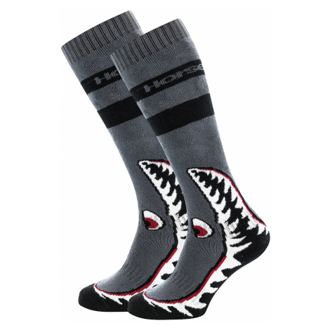 socks Horsefeathers Shark - Gray - men´s