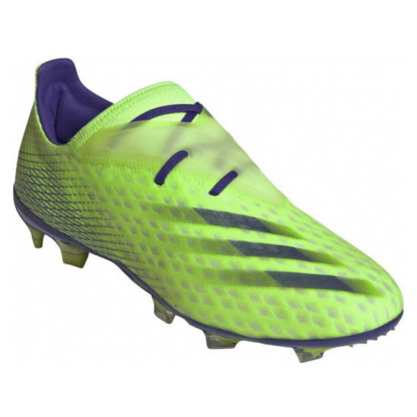 adidas X GHOSTED.2 FG light green - Men's football shoes
