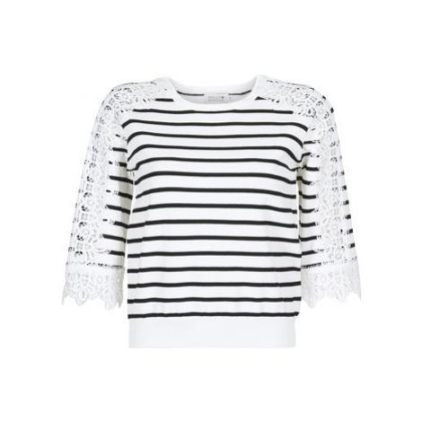 Molly Bracken NUADER women's Sweater in White