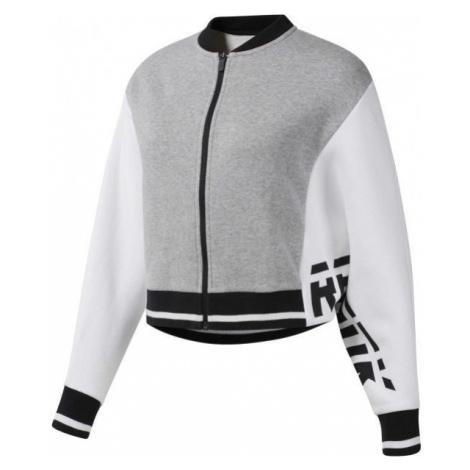 Reebok COLOR BLOCKED TRACKSUIT TOP black - Women's sports jacket