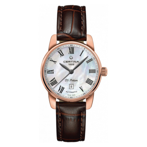 Ladies Certina DS Podium Automatic Watch C0010073611300