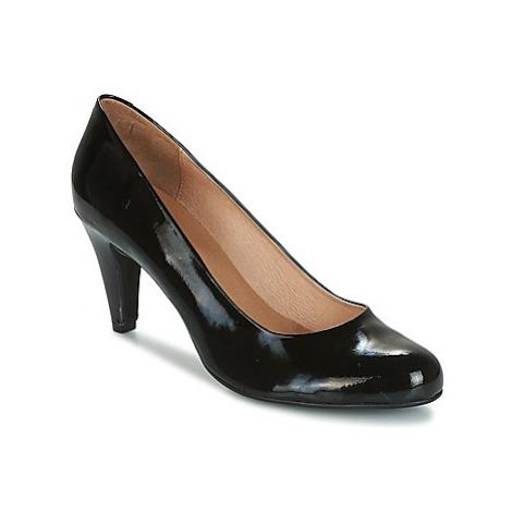So Size MOUMOU women's Court Shoes in Black