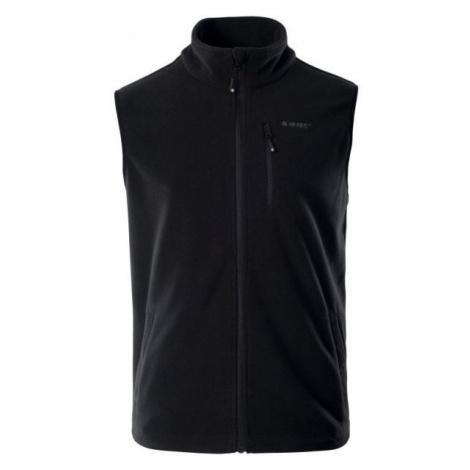 Hi-Tec NALUM black - Men's fleece vest