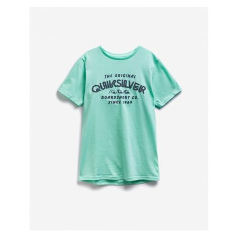 Quiksilver Wilder Mile Kids T-shirt Green
