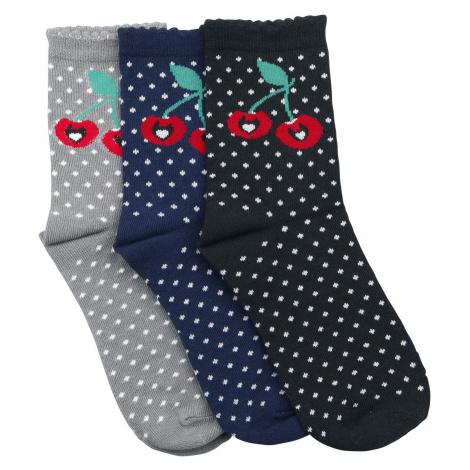 Pussy Deluxe - Sweet Dotties 3 Pack Socks - Socks - multicolour