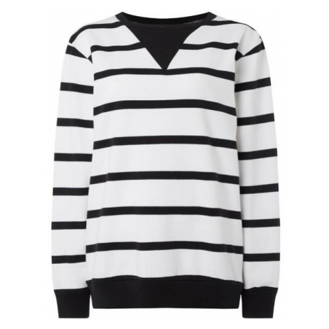 O'Neill LW ESSENTIALS STRIPE CREW black - Women's sweatshirt