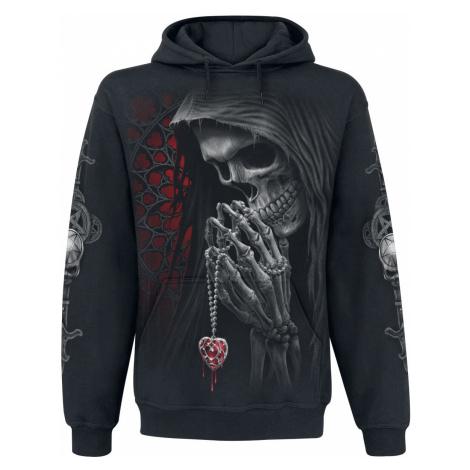 Spiral Forbidden Hooded sweater black