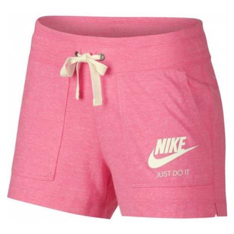 Nike NSW GYM VNTG SHORT pink - Women's shorts