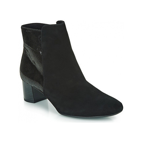 Peter Kaiser ODILIE women's Low Ankle Boots in Black