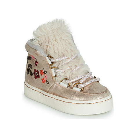 Gioseppo 45967 girls's Children's Shoes (High-top Trainers) in Gold
