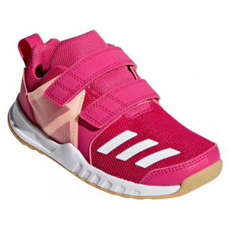 adidas FORTAGYM CF K pink - Children's sports shoes