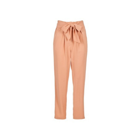 Betty London IRTOUILLE women's Trousers in Pink