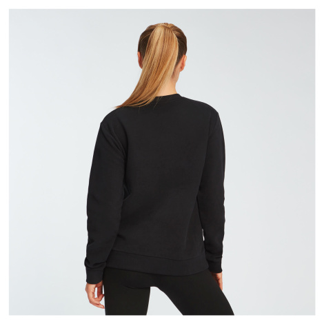 MP Women's Essentials Sweatshirt - Black Myprotein