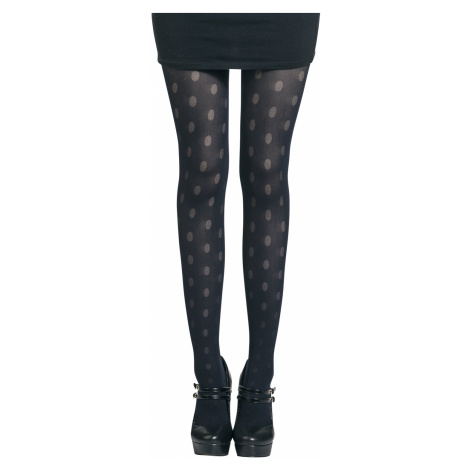 Disée - Mesh Dots - Tights - navy