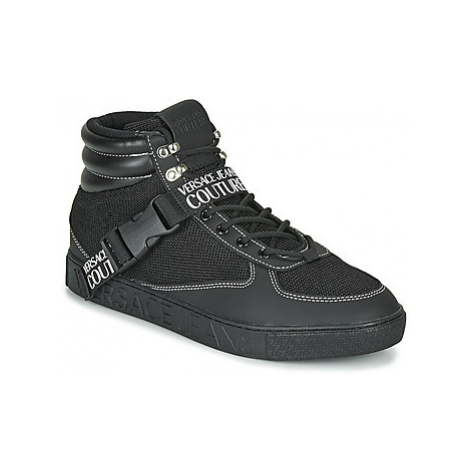 Versace Jeans Couture EOYUBSF6 men's Shoes (High-top Trainers) in Black
