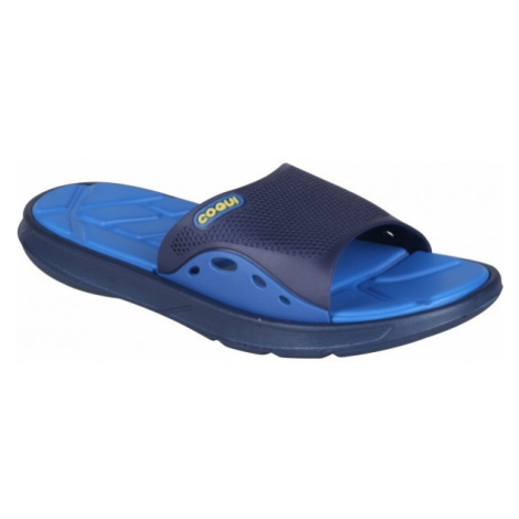 Coqui MELKER dark blue - Men's slippers