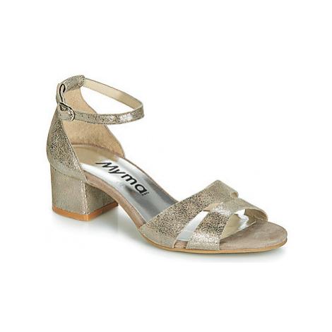 Myma ROMANIA women's Sandals in Gold