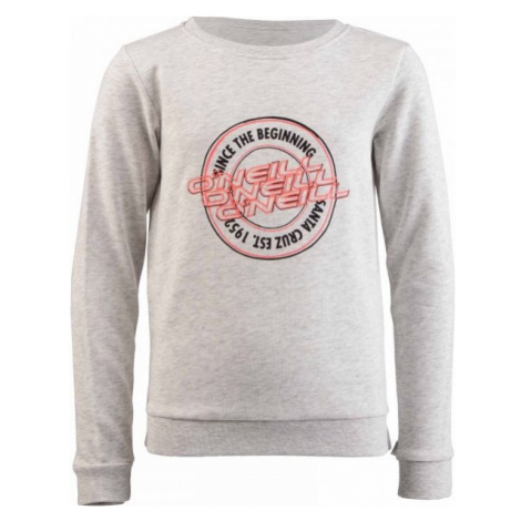 O'Neill LG ONEILL SWEATSHIRT grey - Girls' sweatshirt