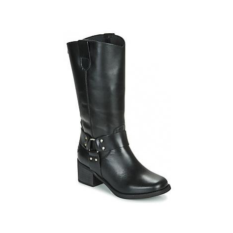Musse Cloud AUSTIN women's High Boots in Black Musse & Cloud