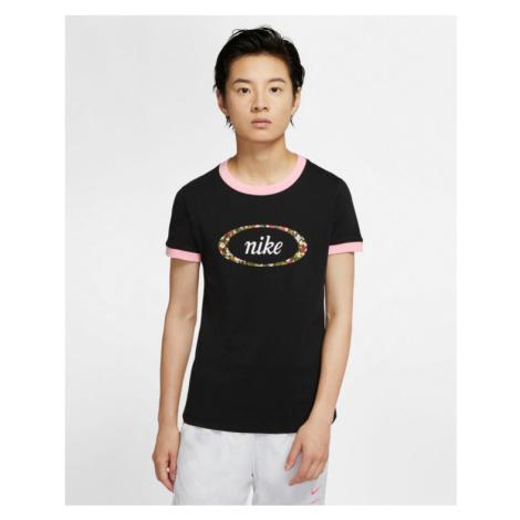 Nike Sportswear Femme Ringer T-shirt Black