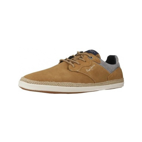 Pepe jeans PMS10252 men's Shoes (Trainers) in Brown