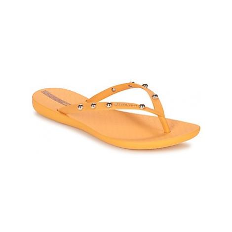 Ipanema WAVE GLAM women's Flip flops / Sandals (Shoes) in Yellow