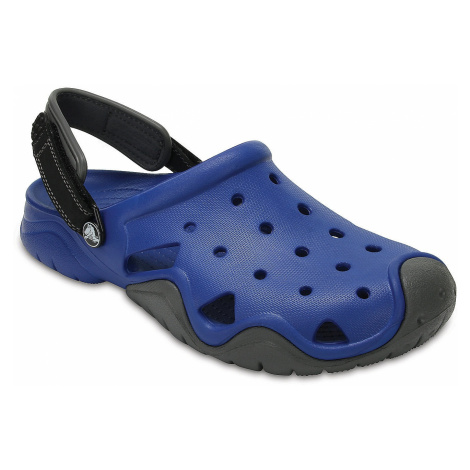 shoes Crocs Swiftwater Clog - Blue Jean/Slate Gray