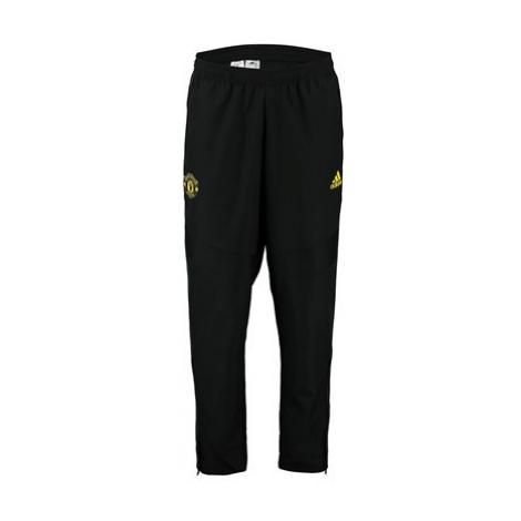Manchester United Training Woven Pants - Black Adidas