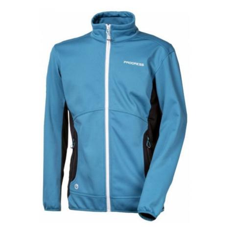 Progress CRYSTAL MAN blue - Men's softshell jacket