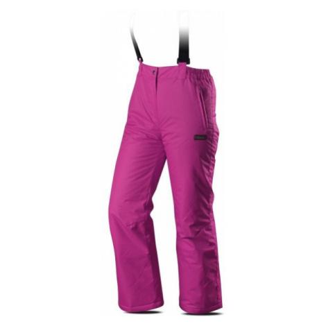 TRIMM RITA PANTS JR pink - Girls' ski trousers