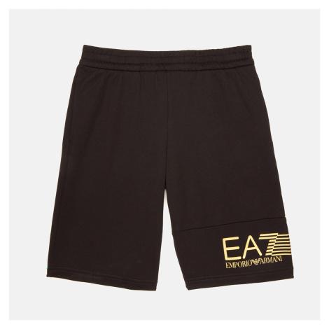 EA7 Boys' Train 7 Lines Bermuda Shorts - Black Armani