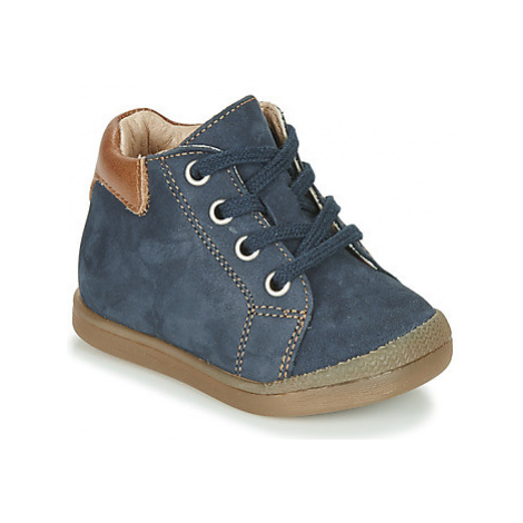 Babybotte FIDJI boys's Children's Shoes (High-top Trainers) in Blue